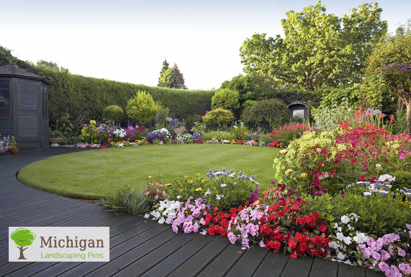 Flower Garden Ideas In Michigan increase the value of your home in michigan with these landscaping