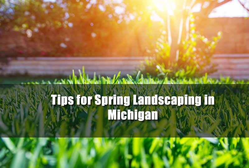 Spring Landscaping Tips tips for spring landscaping in michigan - michigan landscaping pros